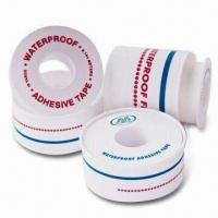 Wholesale Adhesive Surgical Tapes, Waterproof, Made of Cotton Fabric Composited with PE, Air Permeable from china suppliers