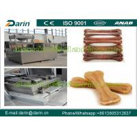 Wholesale Automatic operation Pressed Rawhide Bones making machine for pet food from china suppliers