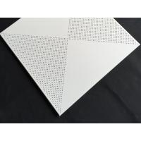 Wholesale Aluminum / Galvanized Steel 3.0mm Perforated Metal Ceiling With Beveled Edge from china suppliers