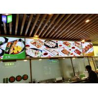Wholesale Snap Frame Illuminated Menu Boards Lightbox Menu Display A0 - A4 Size from china suppliers