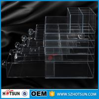 Quality China new products acrylic makeup display, acrylic makeup box, acrylic makeup storage boxes for sale