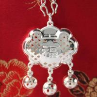 Wholesale lovely sterling silver pendant baby gift from china suppliers