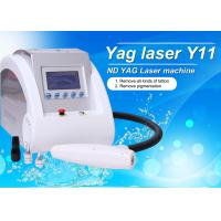 Wholesale Portble Q Switch ND YAG Laser Tattoo Removal Equipment 1064nm / 532nm / 1320nm Laser Beauty Machine from china suppliers