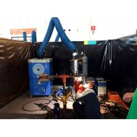 Buy cheap mobile welding smoke collector with flexible extraction arms, cartridge filter portable fume extractor from wholesalers
