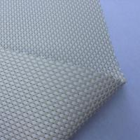 Wholesale Textilene® 525g white with beige color 2X2 mesh fabric for Umbrellas, curtain from china suppliers