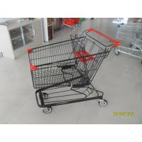 Wholesale 125L Supermarket Shopping Trolleys With 4 Swivel Flat Casters 941 x 562 x 1001mm from china suppliers