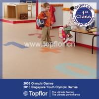 Quality PVC materials nursery school floor color never fade for sale