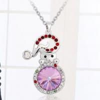 Wholesale Ref No.: 109021 Christmas snowman Necklace  jewellery sale wholesale accessories jewelry from china suppliers