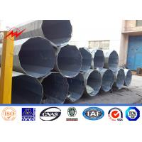 Wholesale 10m Power Transmission pole with Bitumen / hot dip galvanized & painting from china suppliers