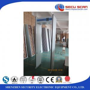 Wholesale Indoor 24 Zones Walk Through Scanner Archway Metal Detector Door Frame from china suppliers
