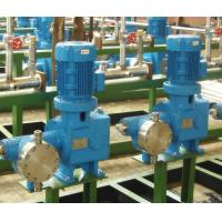 Wholesale Hydraulic Electric Double Diaphragm Pump Stainless Steel For Chemical from china suppliers