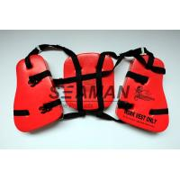 Wholesale Adult Seahorse Lifevest Vinyl - Dip PVC Boating Life Jackets Three Panel from china suppliers