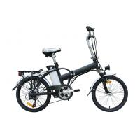 Wholesale Folding alloy frame electric bicycle / Folding Electric Bike li-ion battery , CE approved from china suppliers
