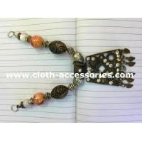 Wholesale Copper Colored Handmade Beaded Necklaces Vintage Style 15cm Length from china suppliers