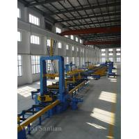 Wholesale Industrial Automatic H-beam Steel Assembling Machine 380V , 28000mm Roller Way from china suppliers