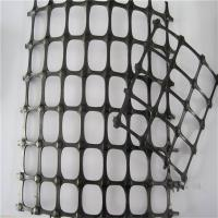 Wholesale 1-4 Meter width black color  25-25KN plastic HDPE Biaxial Geogrid For Slope Stabilization by sincere factory/supplier from china suppliers