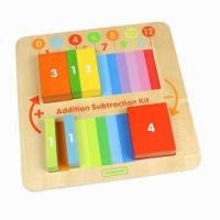 Quality Addition/Subtraction Learning Board, Chunky Developmental Board Game for sale