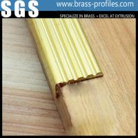 Wholesale Groove Brass Extruding Skidproof Strip Sheet for Flooring from china suppliers
