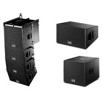 Wholesale Waterproof Black Cabinet Stadium Sound System Dual 10 In 400 Watts Speaker from china suppliers