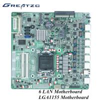 Wholesale 2 COm 2 DDR3L Wifi 3G LGA 1155 Socket Motherboard For Industrial Computer from china suppliers