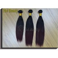Wholesale Brazilian Straight Hair Weave Bundles , 10 Inch 1 Piece Non - remy Human Hair from china suppliers