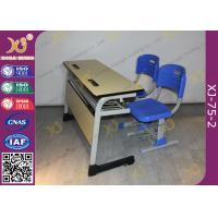 Wholesale Double Seats Two Seaters Student Desk And Chair Set For Junior School from china suppliers