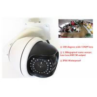 Wholesale Analog 1.3Megapixel HD AHD Fisheye Security Camera Waterproof Dome 180 Degree from china suppliers