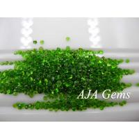 Wholesale Green Gemsotne Chrome Diopside Jewelry Untreated , Round Shape from china suppliers