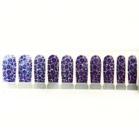 Wholesale Colorful Glitter Finger Nail Stickers Decorecation Sticker For Finger from china suppliers
