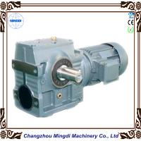 Wholesale Mingdi Solid / Hollow Shaft Helical Worm Reduction Gearbox With AC Motor from china suppliers