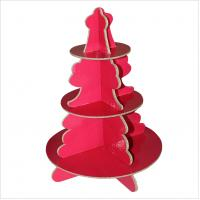 Wholesale Christmas Paper Cardboard Tree for cakes, celebration from china suppliers