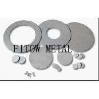 Wholesale 2015 hot sale Best Price Porous Titanium Filter Disc from china suppliers