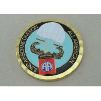 Wholesale 82nd Airborne Division Personalized Coins by Brass Die Struck With 2.0 Inch from china suppliers