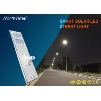 Wholesale 120W High Power Smart Solar Street Light With High Brightness Bridgelux LED Chips and PV Panels from china suppliers