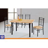 Wholesale Custom Metal Leg Luxury Kitchen Dining Tables and Chairs Modern Home Furniture from china suppliers