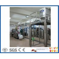 Quality Full Automatic Milk Dairy Machinery For Flavoured Milk Manufacturing Process for sale