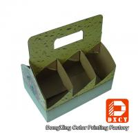Wholesale Corrugated Cardboard Take Away Packaging For Drink Cups Glossy Varnishing from china suppliers