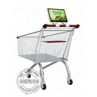 Wholesale 12.1 Inch Supermarket Shopping Trolley Bus Digital Signage Advertising Rechargeable Battery from china suppliers