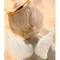 Hand-painted ceramic angel household ornaments