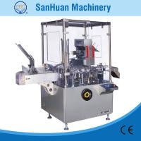 Quality ALU - PVC Blister / Bottle Feeding Packing Vertical Cartoning Machine With PLC Control for sale
