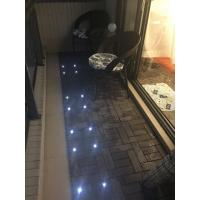 Wholesale WPC interlocking decking with solar light, CE certificate from china suppliers