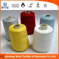 Quality EN11612 flame retardant high tear strength aramid sewing thread for sale