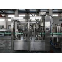 Semi Automatic Beverage Filling Machine , Glass Bottle Soda Filling Machine 500ml/600ml