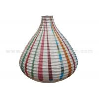 Wholesale Unique Shaped Rice Paper Lamp with Circus Printing , Wedding Paper Lanterns from china suppliers