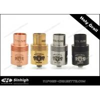 Wholesale Holy Grail RDA Dripping Atomizer 22mm Atomizer Clone Holy Grail RDA With Big Cap from china suppliers
