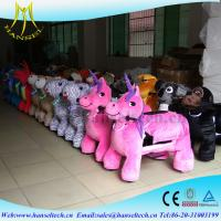 Wholesale Hansel Coin Operated Kiddie Ries For Sales Amusement Electric Animal Ride Kids Rides For Shopping Center from china suppliers
