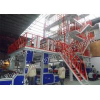 China LDPE / HDPE Blown Film Extrusion Machine With SSR +PID Temperature Control on sale
