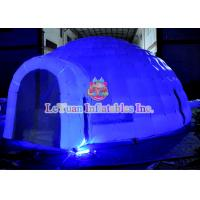 Wholesale 6m X 6m LED Inflatable Wedding Tent Flame Retardant Environmental Protection from china suppliers