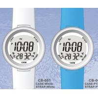 Wholesale Plastic Quartz Womens Digital Watches with 100M Water Resistant from china suppliers
