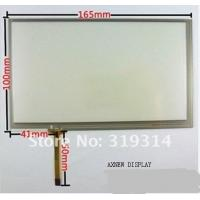 Wholesale 7 inch 4 wire resistive touch screen panel work for 7inch tft  AT070TN92 HSD070IDW1 AT070TN84 CLAA070VA01 from china suppliers